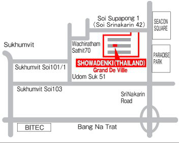 SHOWADENKI(THAILAND) CO., LTD. Map